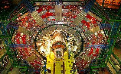 Détecteur CMS au CERN
