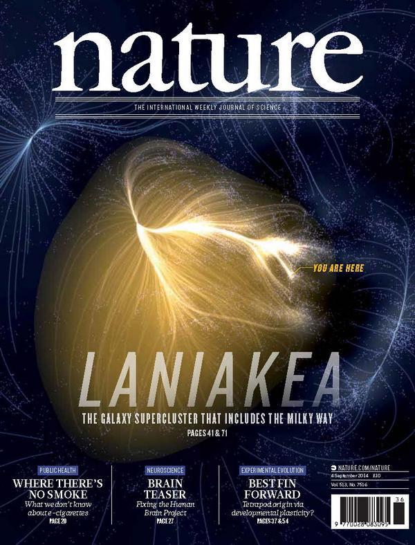 Couverture de Nature (4 septembre 2014)